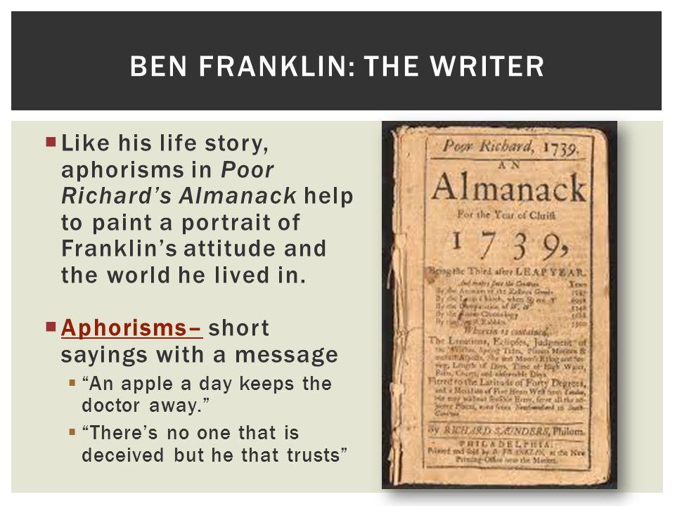 ben franklin aphorism essay Benjamin franklin autobiography youtube ben aphorism essay maxresde example of essay ~ ben franklin autobiography essay ben franklin aphorism essay ben franklin.