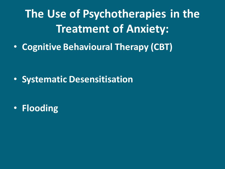 agoraphobia the symptoms and the three steps of systematic desensitization Cbt and other therapy can be very effective for anxiety disorders  this involves three steps:  systematic desensitization.