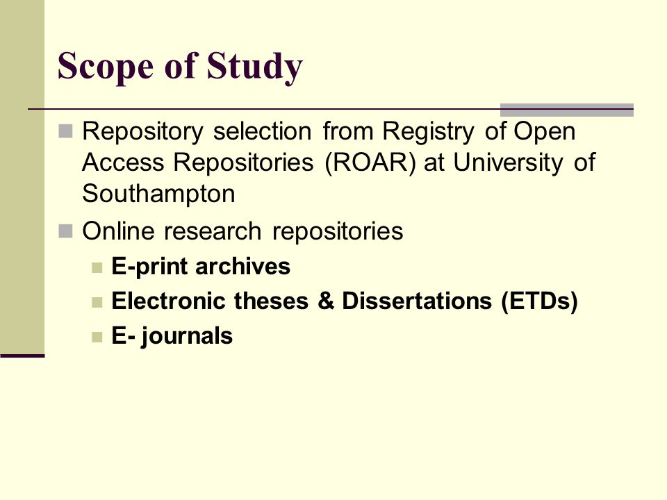 open electronic dissertations & theses (etd) Electronic theses and dissertations (etds) are theses or dissertations prepared as text-based pdf files etds can contain non-text elements such as multimedia, sound, video, and hypertext links at pitt, etds are available on pittcat , the university's online catalog.