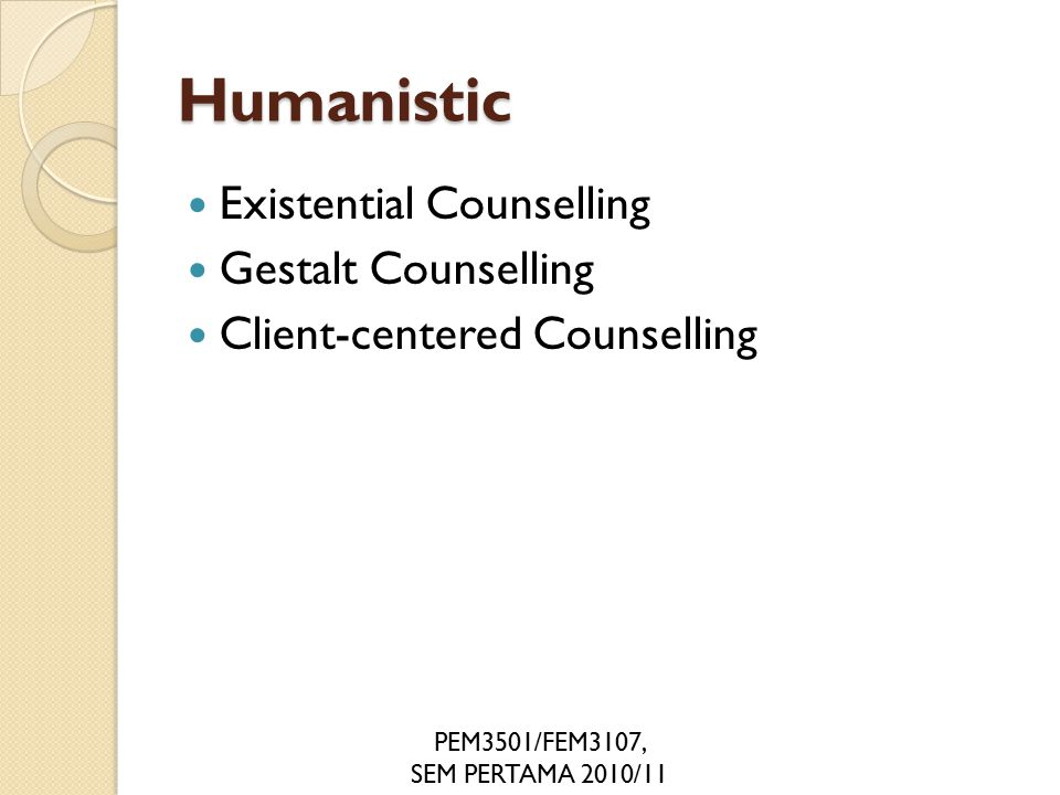 """counselling feeling and client """"emotional bonding between counselor and client is different for every  """"[ obviously] in many cases, clients need a lot more than feeling."""
