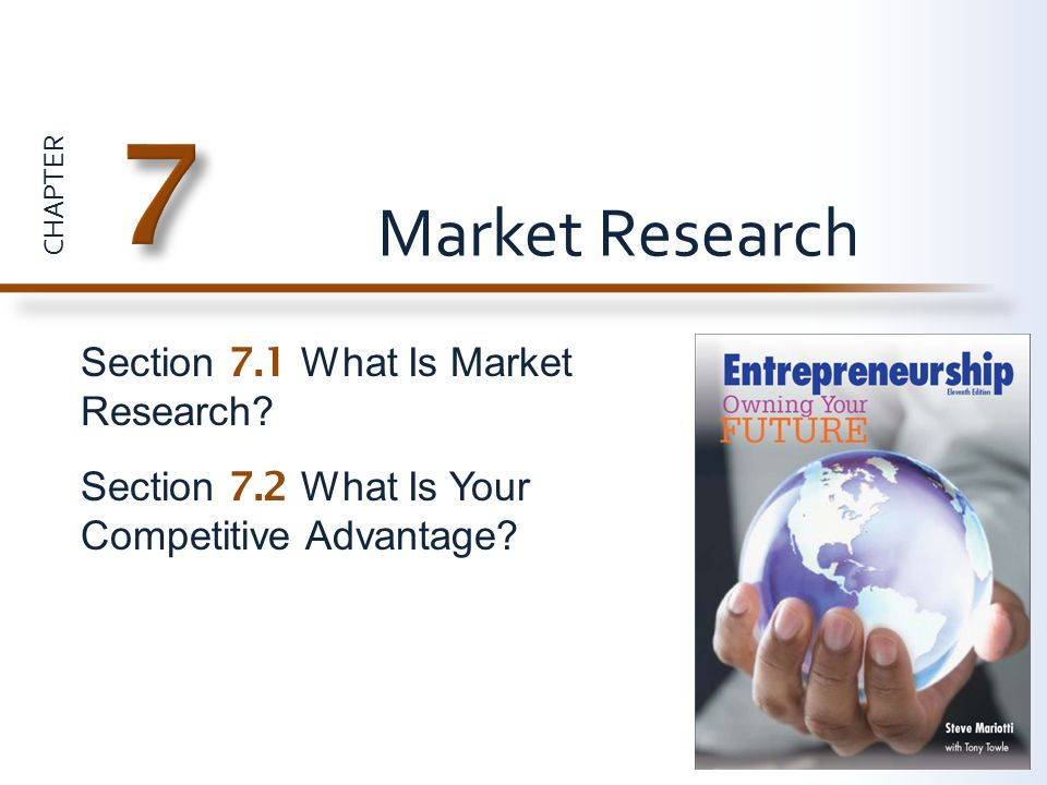 7 Market Research Section 7.1 What Is Market Research