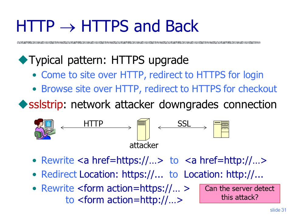 how to go back to http from https