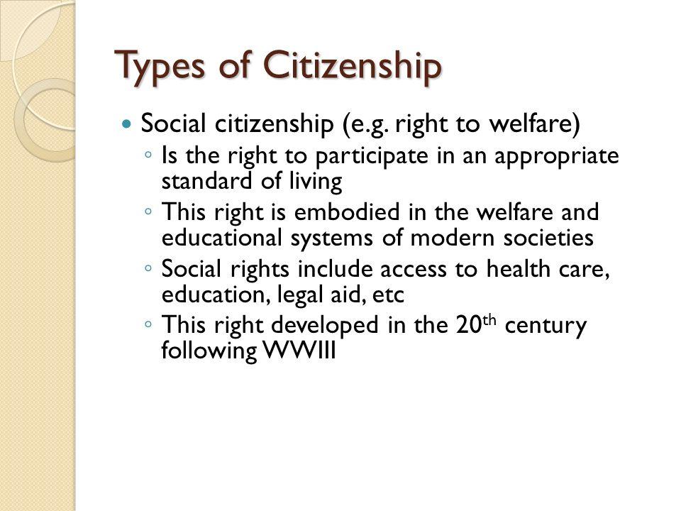 relationship between socialization and citizenship education