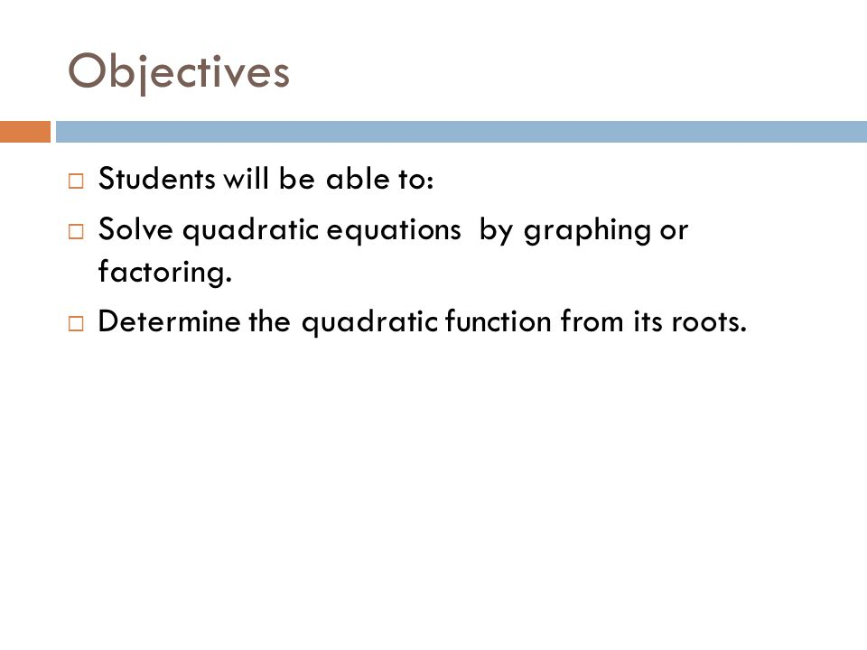 23 solving quadratic equations by graphing and factoring ppt – Solving Quadratic Equations by Graphing Worksheet Answers