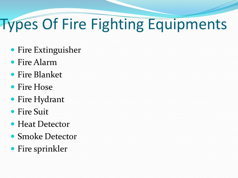 An Introduction To Fire Fighting Ppt Video Online Download