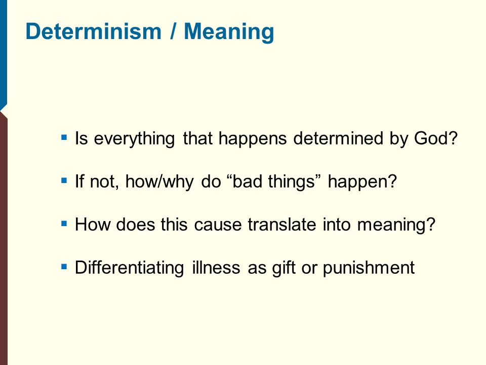 soft determinism Compatibilism, or soft determinism w t stace defends a version of what is sometimes called soft deter-minism or compatibilism to make sure you understand his attempt to.