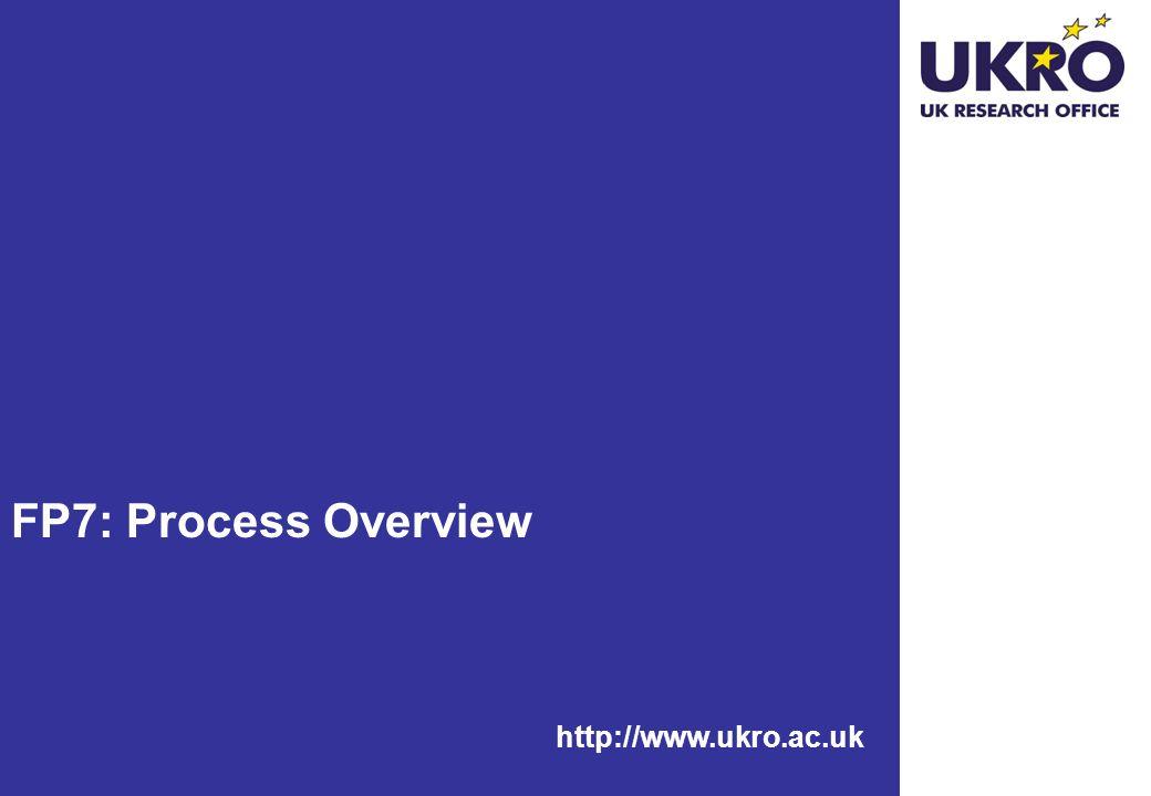 FP7: Process Overview http://www.ukro.ac.uk
