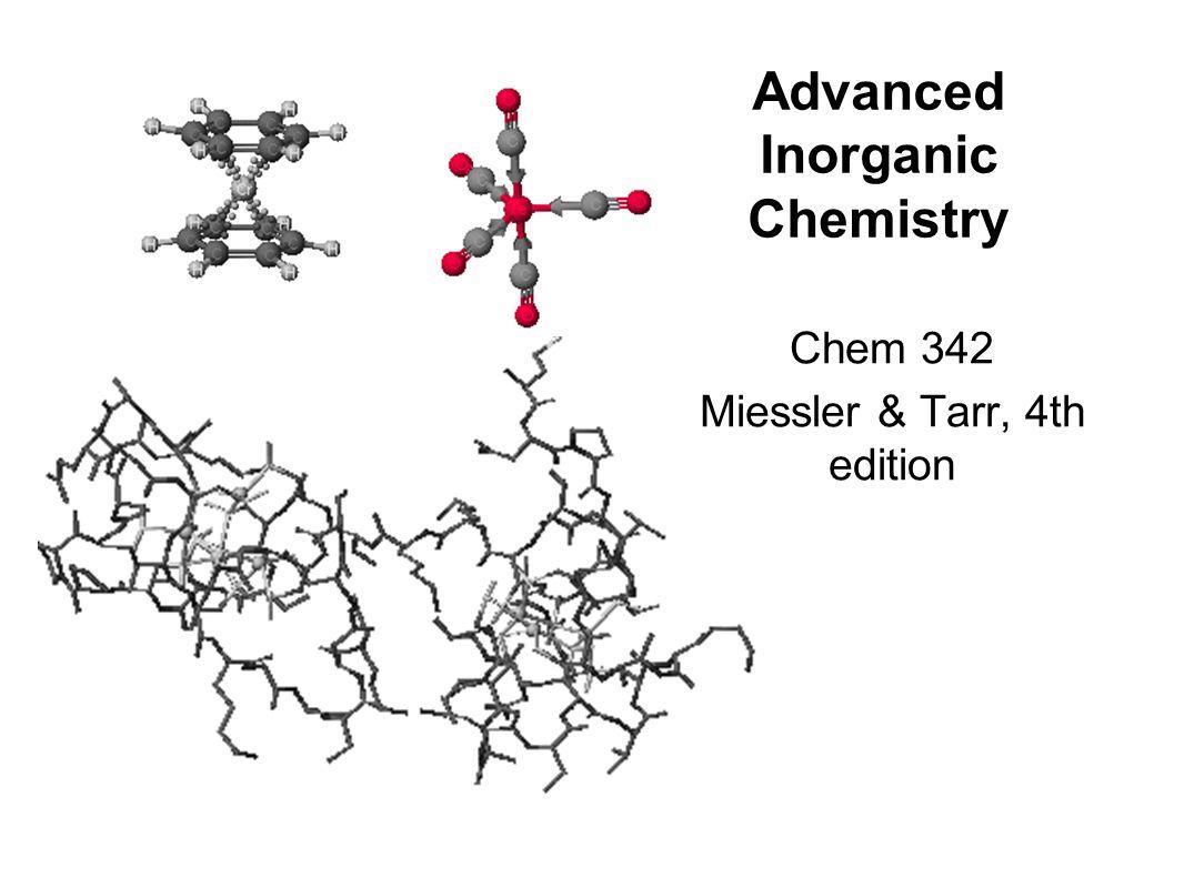 inorganic chemistry miessler and tarr 4th edition pdf