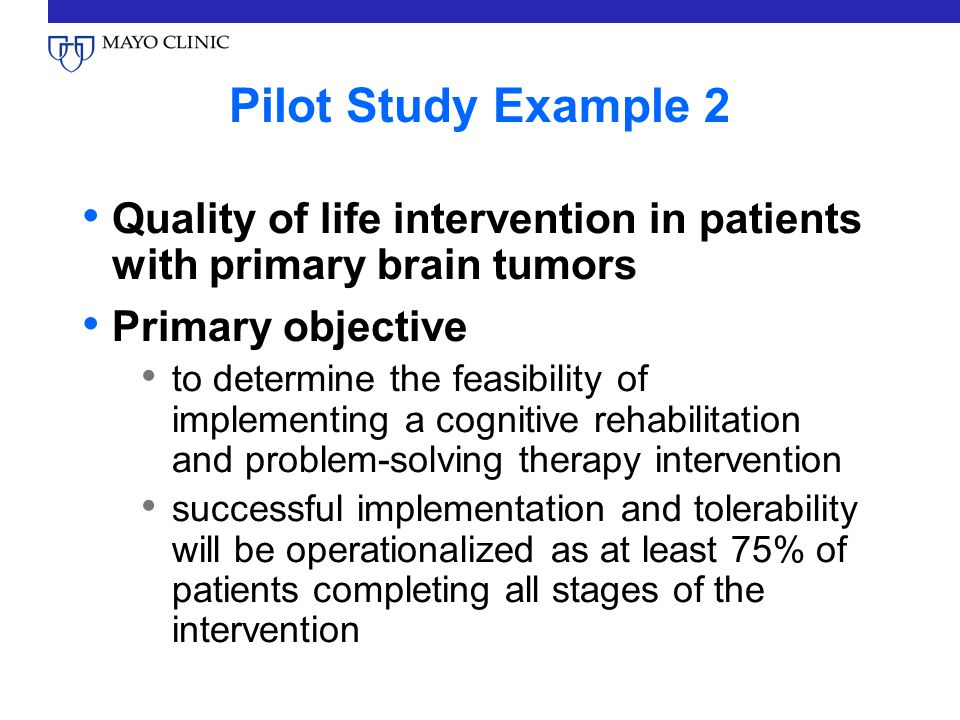 What is a Pilot Study? - Definition & Example - Video ...
