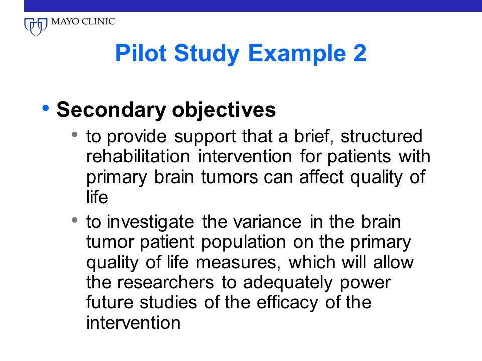 Pilot Survey - Create a prestudy to avoid overlooking errors