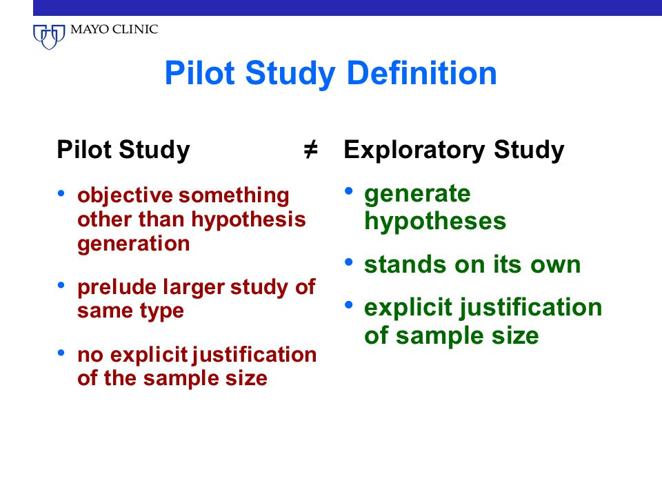 pilot study in research pdf
