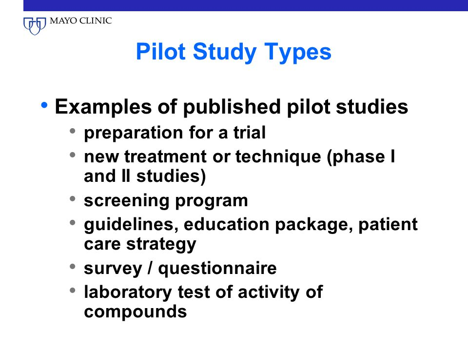 A tutorial on pilot studies: the what, why and how