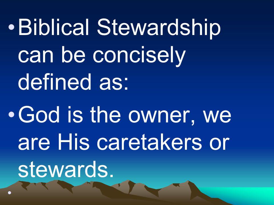 Biblical Stewardship Raising Resources For Evangelism