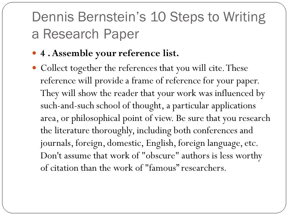 Sample Reference List For Research Paper. In-Text Citation In Main