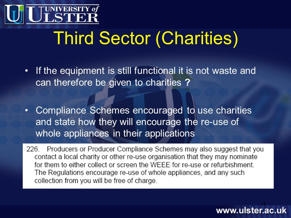Third Sector (Charities)