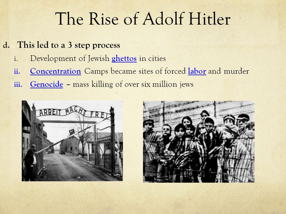 the rise of adolf hitler the Under hitler, the nazi party grew into a mass movement and ruled germany as a totalitarian state from 1933 to 1945hitler's early years did not seem to predict his rise as read more adolf hitler.