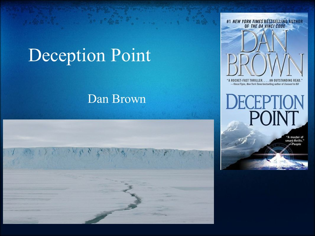 Deception Point Dan Brown. - ppt download