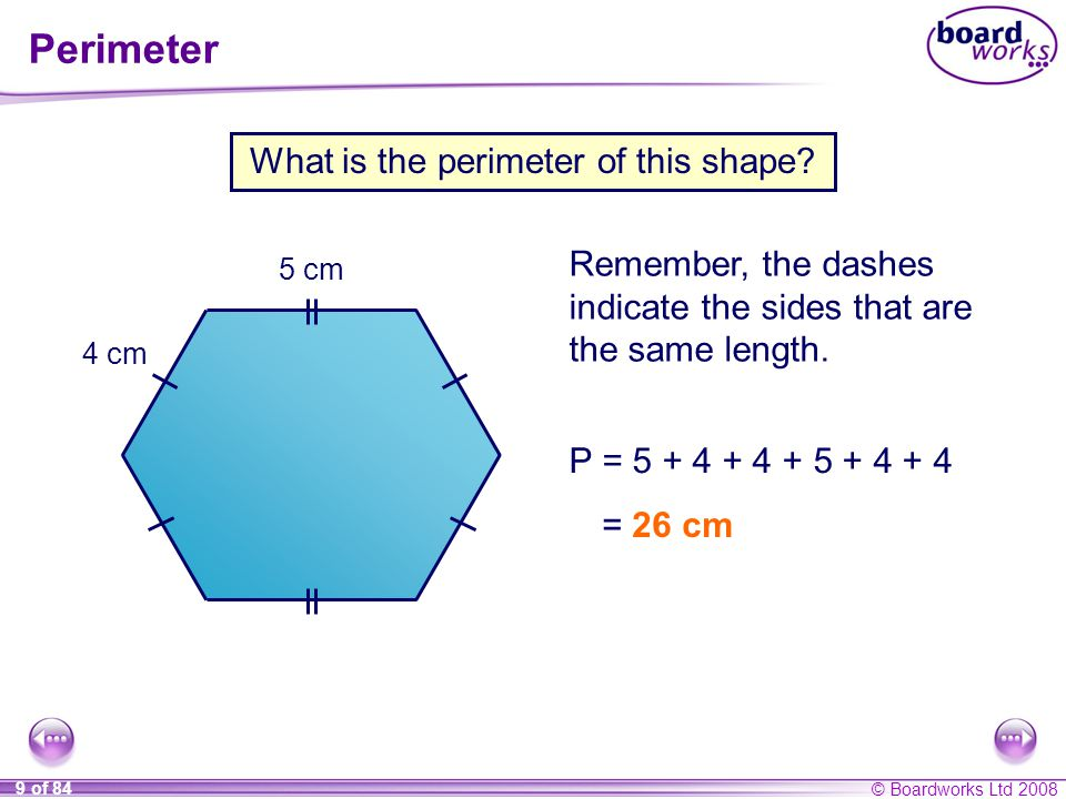 What is the perimeter of this shape