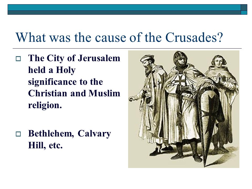 the causes and history of the crusades This article presents an overview of the crusades  one must first consider the history of europe and the middle east in the millenium before 1095.
