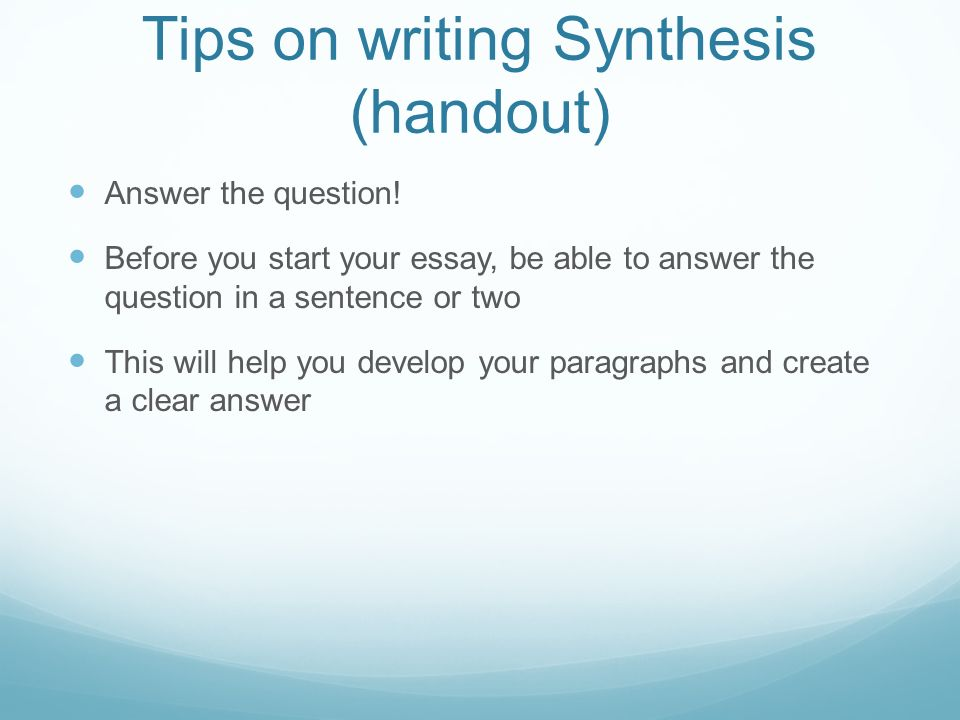 buy synthesis essay prompts
