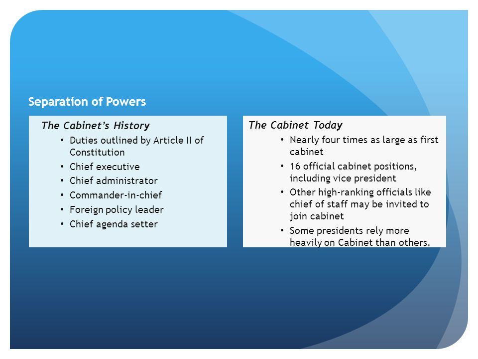 The President's Administration - ppt download