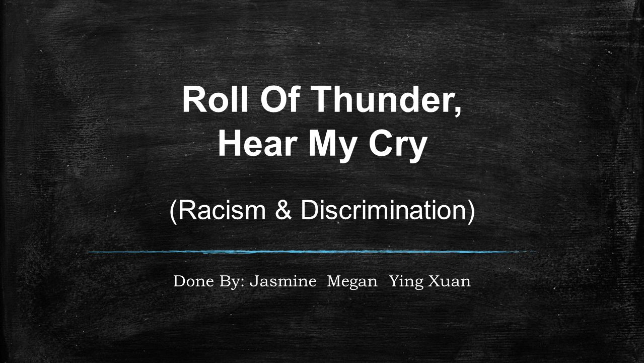 Roll of Thunder, Hear My Cry Summary