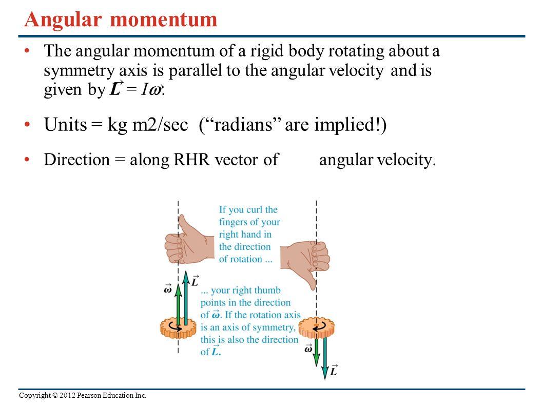 angular momentum of a rigid body pdf