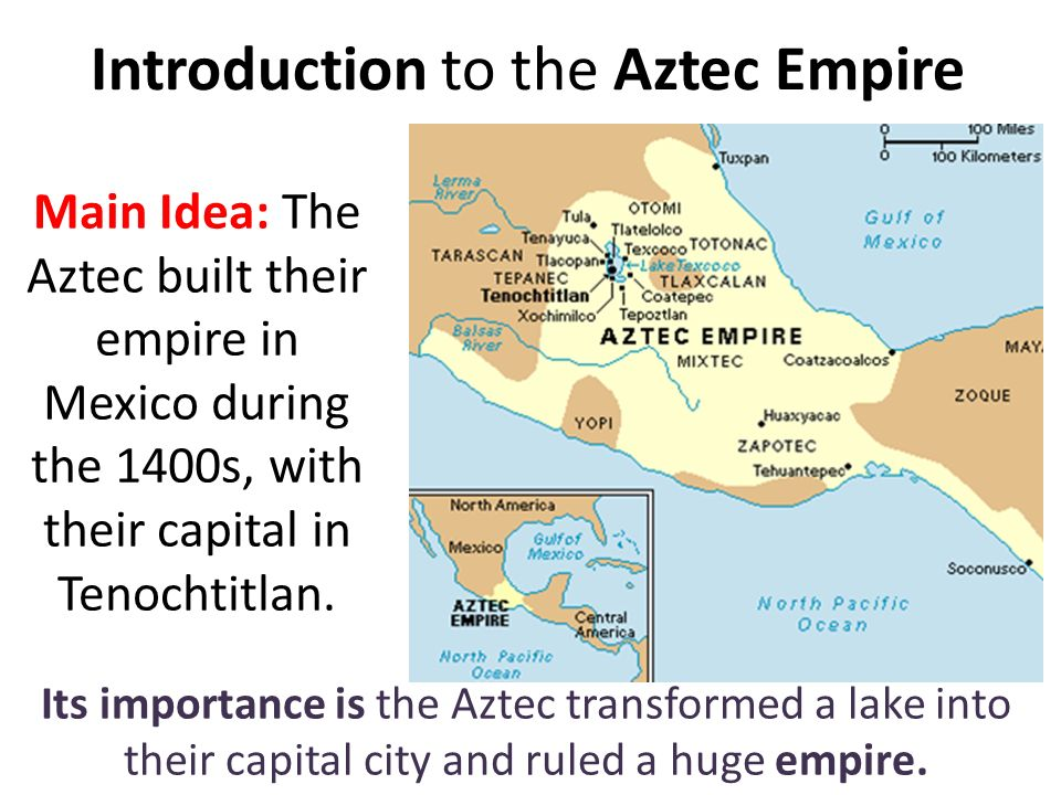 an introduction to the to the mariculture of the capital city of tenochtitlan Introduction and aims of the review  40% of the world population lives not  more than 100 km away from the coastlines, putting  chinampa, usually  measured roughly 30 × 25 m or even up to 91 × 91 m in tenochtitlan the.