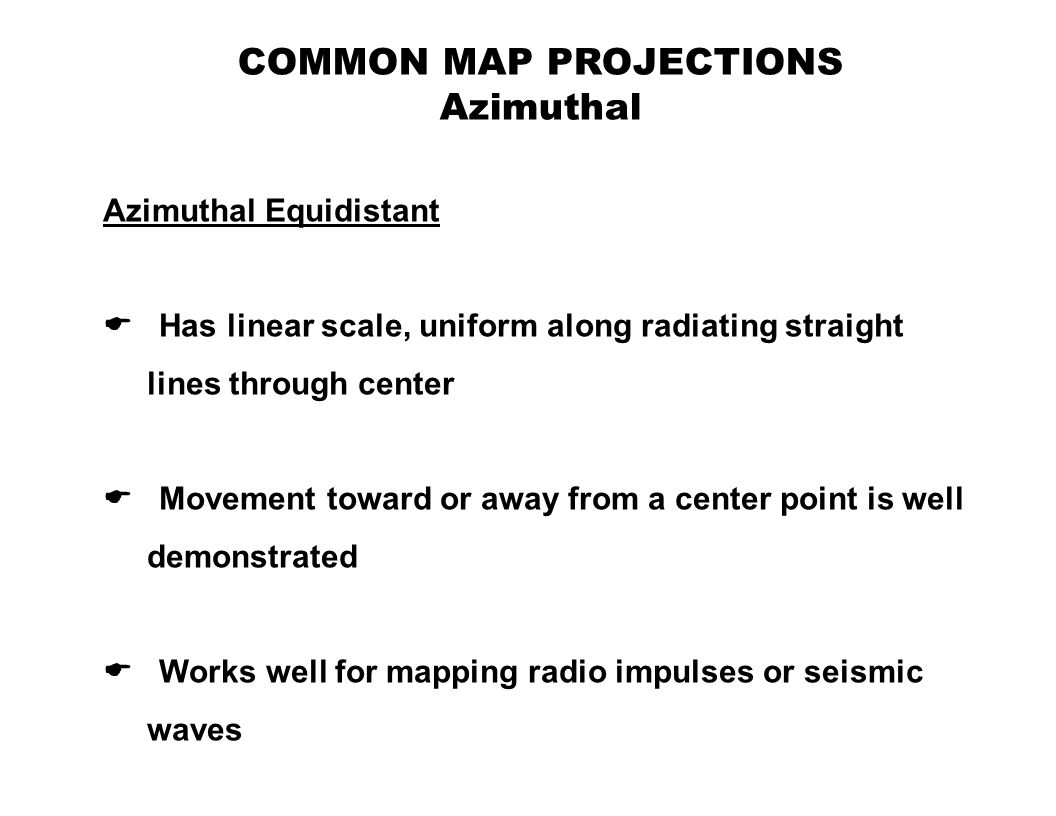 map projections definition Maps cannot be created without map projections all map projections necessarily distort the surface in some fashion depending on the purpose of the map.