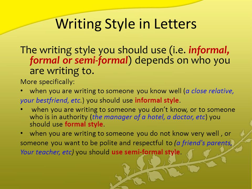 writing styles online What this handout is about this handout will help you recognize potential problems in your writing style and learn to correct them what do we mean by style have you.