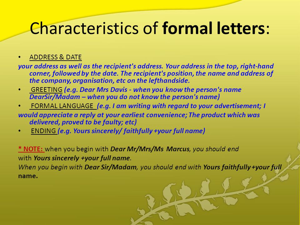 What are characteristics of formal language?
