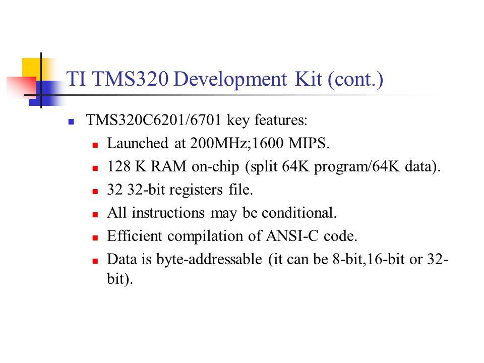 Dsp development system ppt video online download Ansi c compiler online
