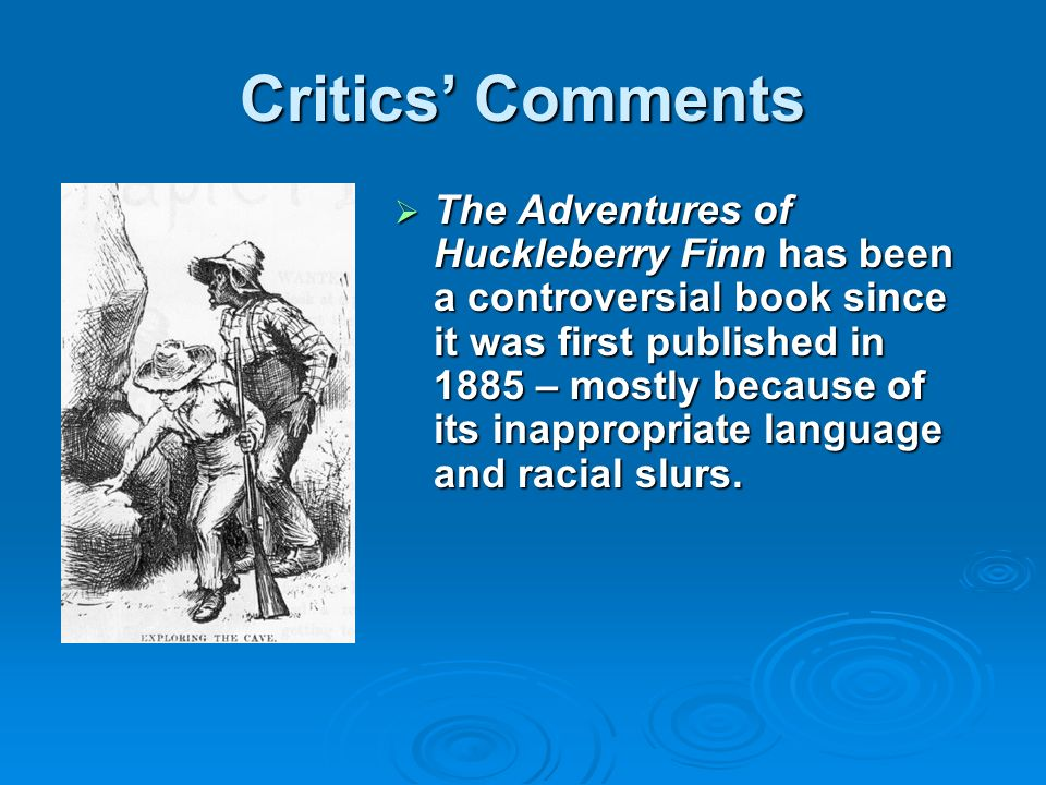 adventures of huckleberry finn style analysis 2 essay Analysis-the adventures of huckleberry finn of his classics the adventures of huckleberry finn and the of the style that escapes the.