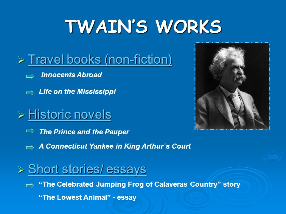 """lowest animal essay As you read twain's satire """"the lowest animal,"""" look for examples of exaggeration and irony the following essay, twain satirizes human nature by."""