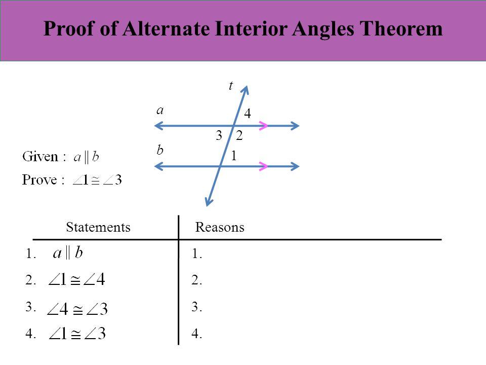Alternate Exterior Angle Theorem Definition Alternate Exterior Angles Definition Theorem Video