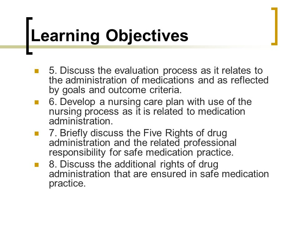 how to write learning objectives in nursing