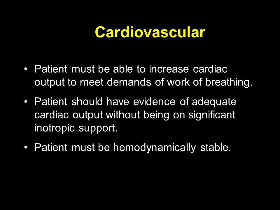 weaning criteria from ventilator pdf