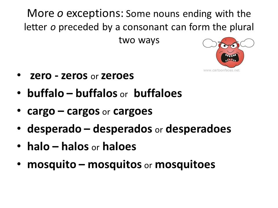 The rules and the exceptions. - ppt video online download