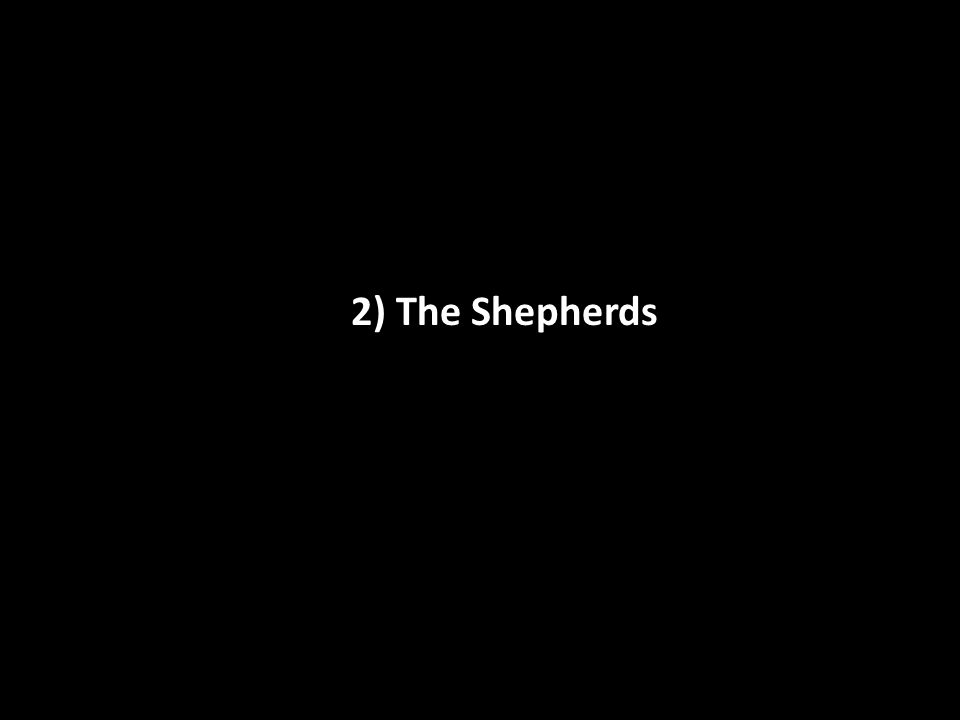2) The Shepherds