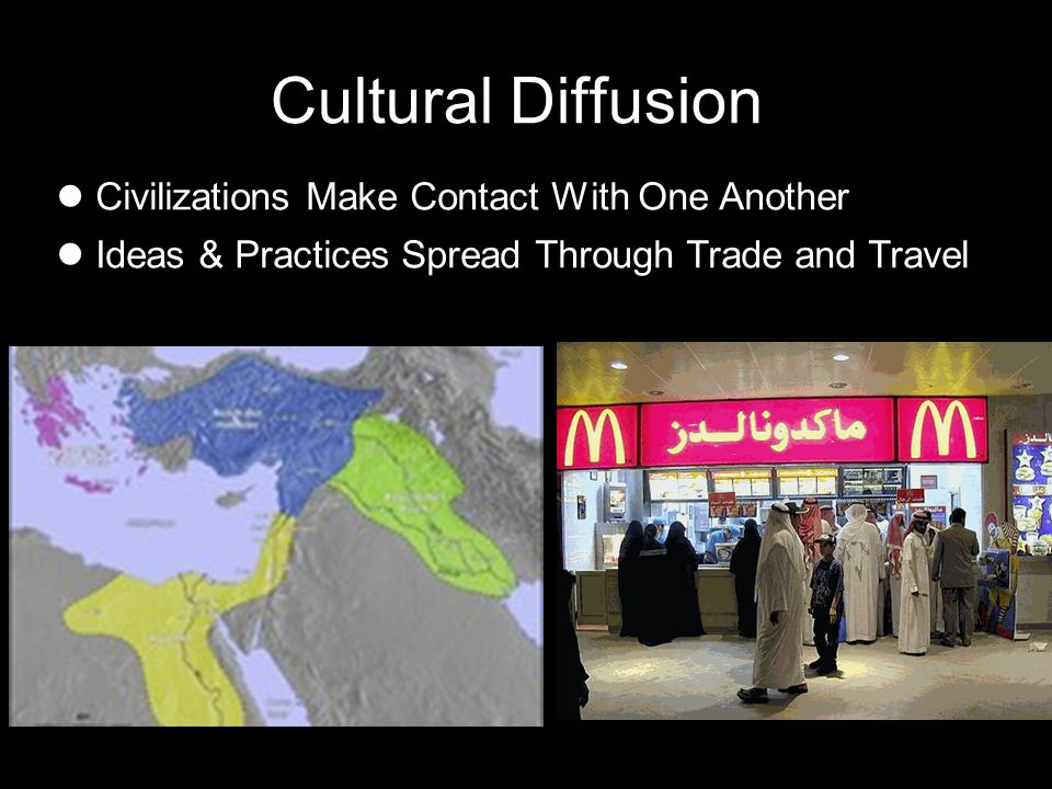 Cultural Diffusion Civilizations Make Contact With One Another