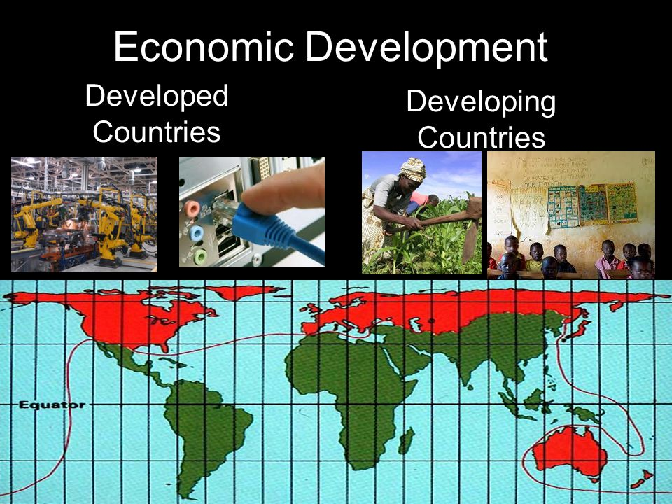 Economic Development Developed Countries Developing Countries