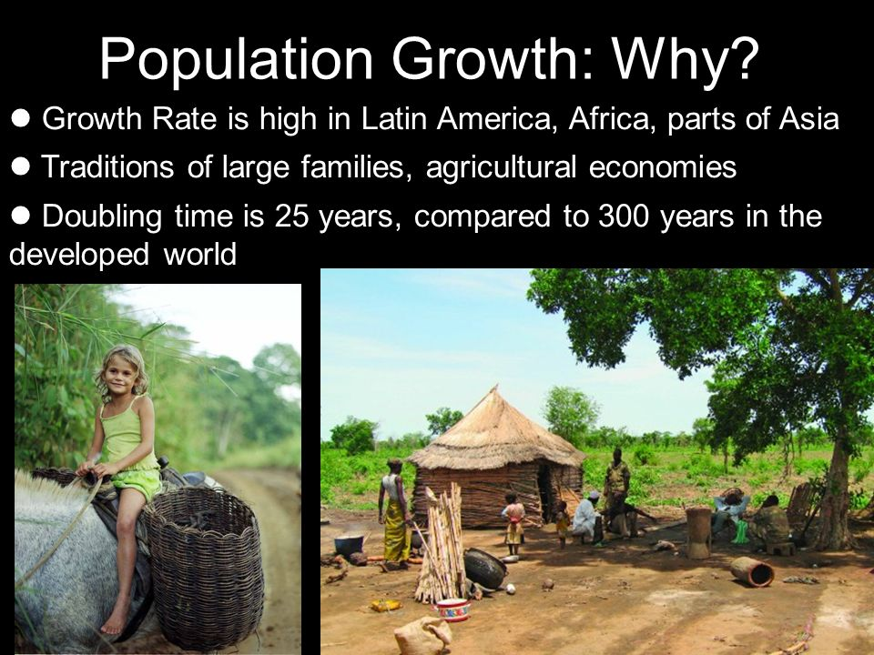 Population Growth: Why