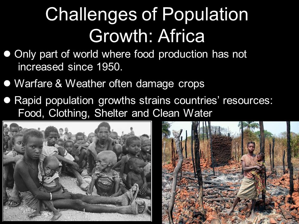 Challenges of Population Growth: Africa