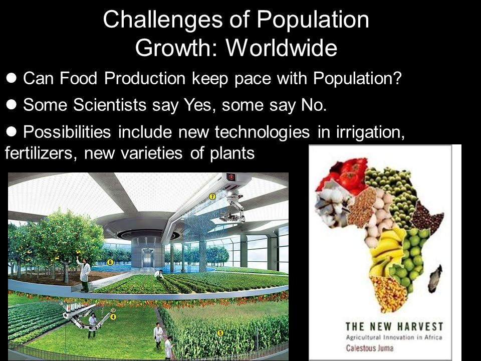 Challenges of Population Growth: Worldwide