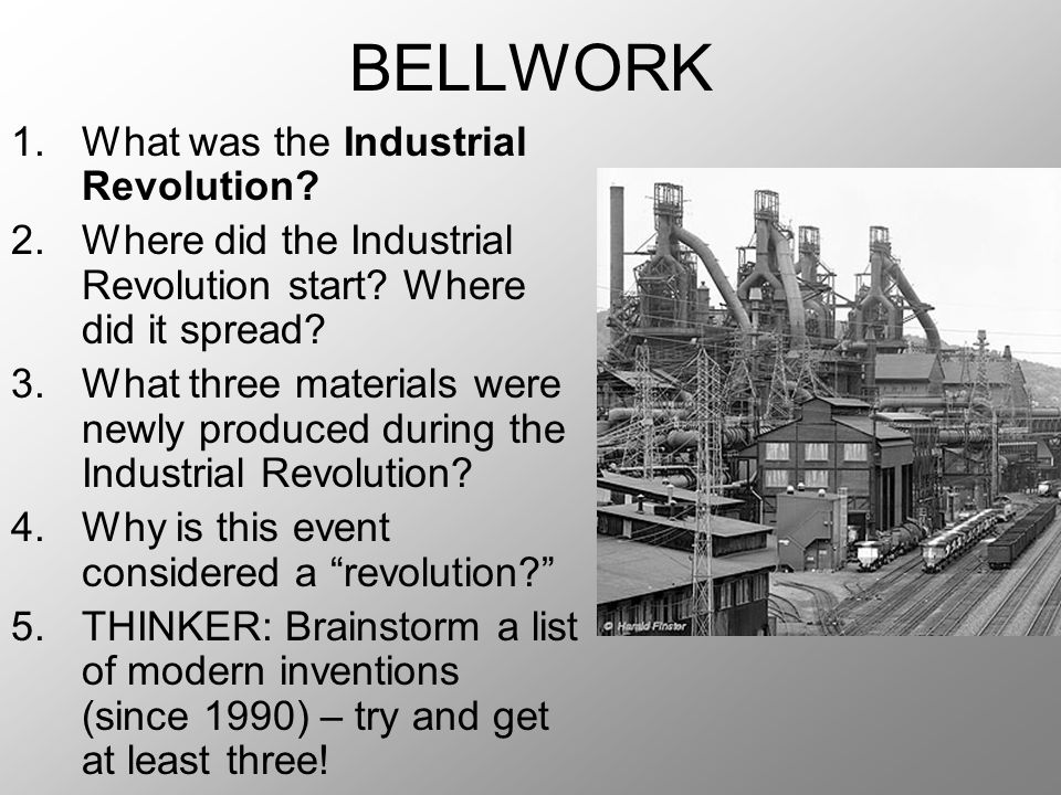 Dynamite Industrial Revolution