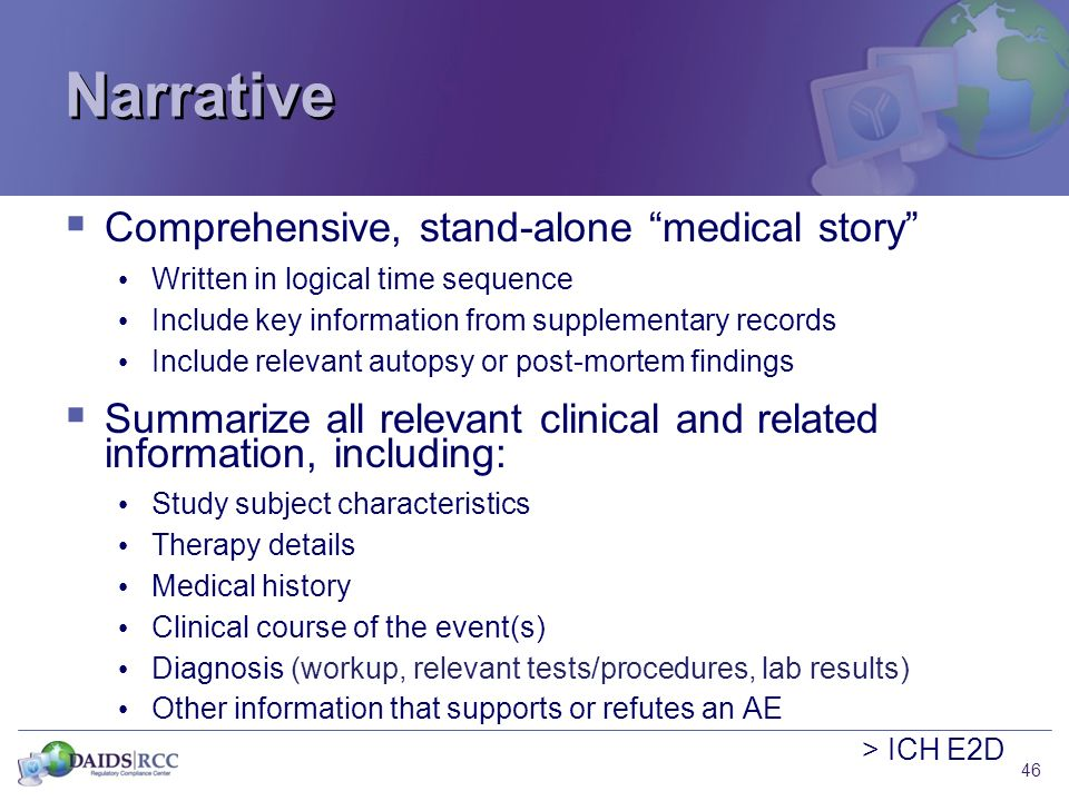 narrative nursing health history Diagnostic reasoning for advanced nursing practice 431 patient write-up use of alternative health care history (may draw genogram or use narrative.