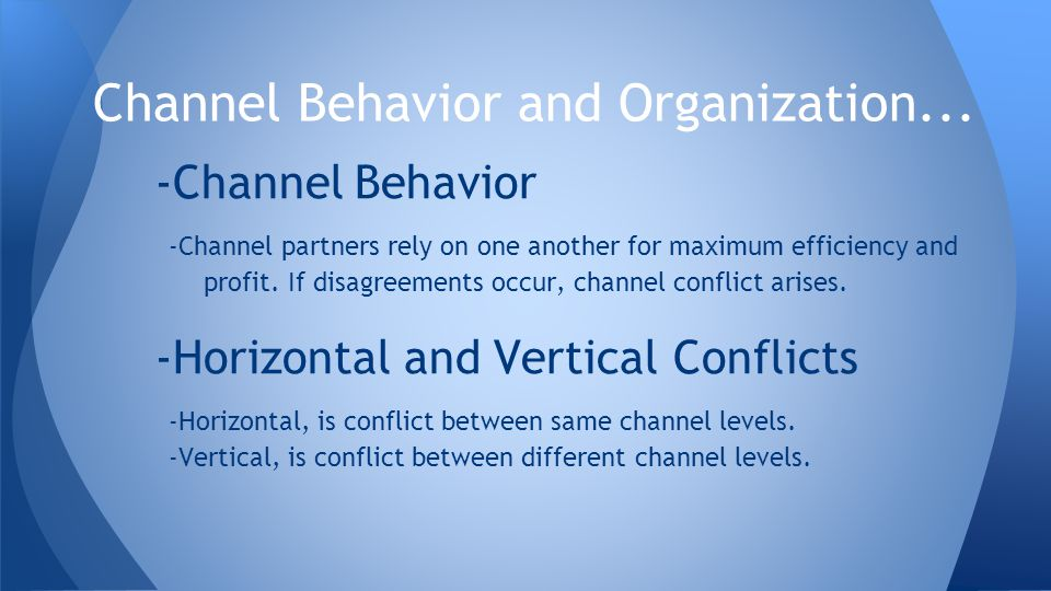 channel behavior and organization Create an organizational structure that supports omnichannel marketing once you've identified your most valuable customers—omnichannel shoppers—and you've started to understand their online-to-store behavior, it's time to take action on these insights and create that seamless shopping experience that leads to a sale.