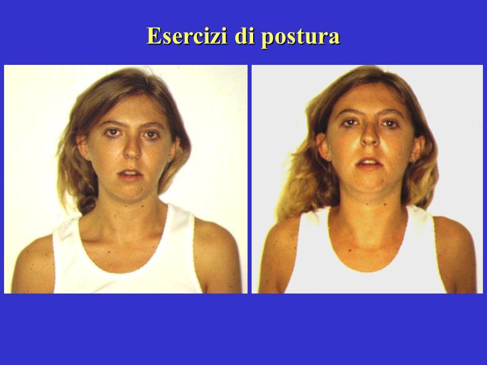 Esercizi di postura