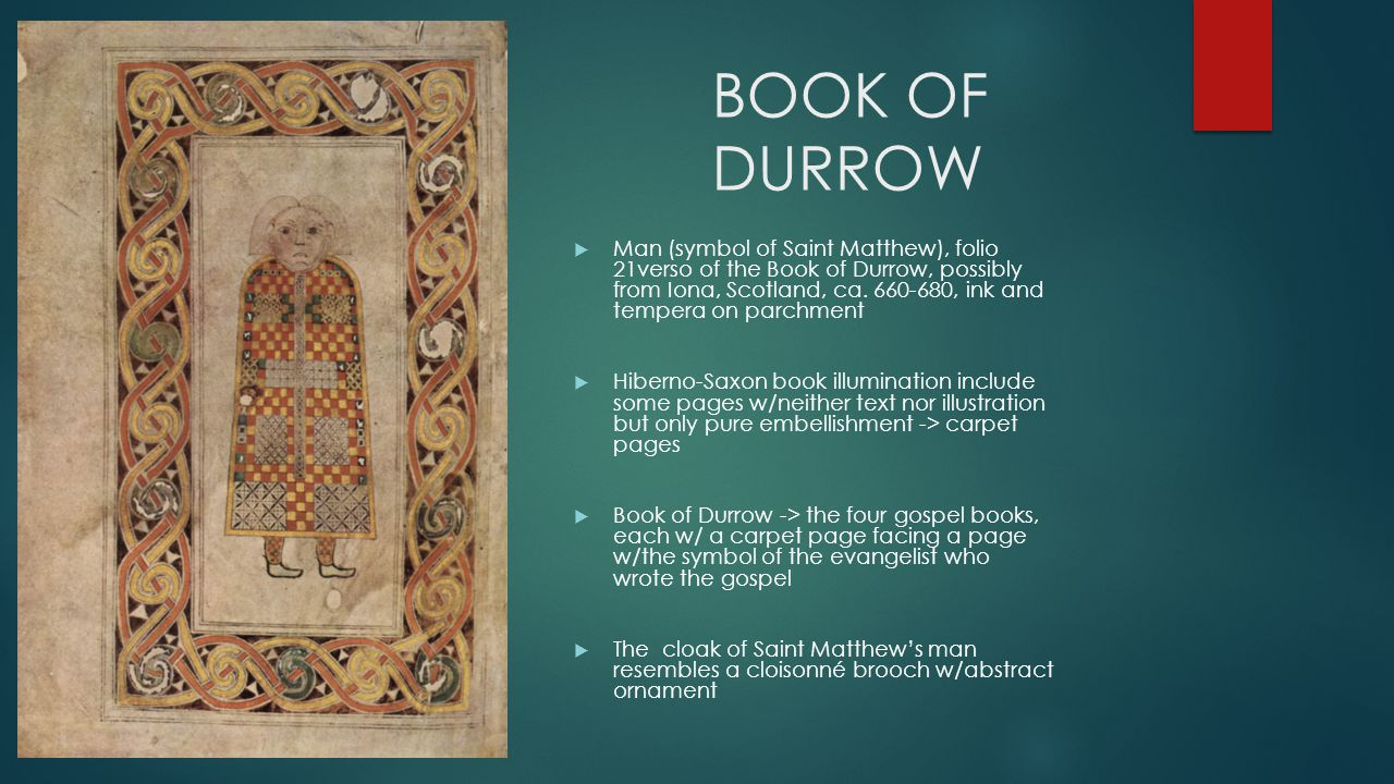Early medieval europe gardner chapter 16 1 pp ppt video online book of durrow biocorpaavc Choice Image