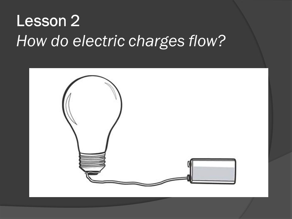Lesson 2 How do electric charges flow